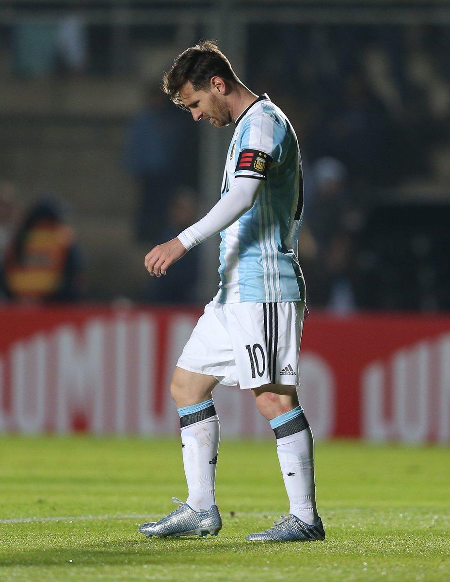 Messi lesionado y se pierde la final