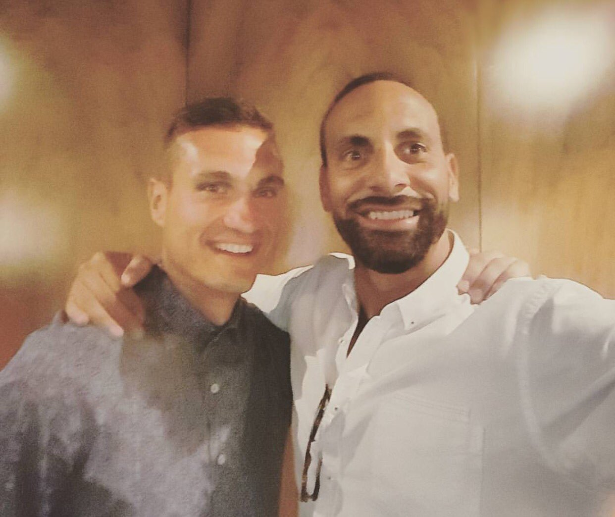 Reunited with my guy! Spent time reminiscing old times!! Partnerships like I had with this man last forever #vidic https://t.co/K7WDic4pSR