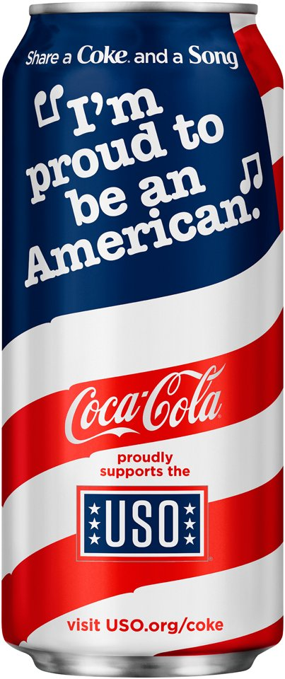 .@CocaCola joins patriotic branding boom with flag can https://t.co/D4aHTMCuqh https://t.co/gERNxcxHlQ