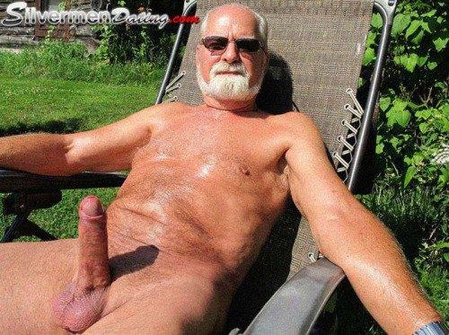 Giant grandpa cock