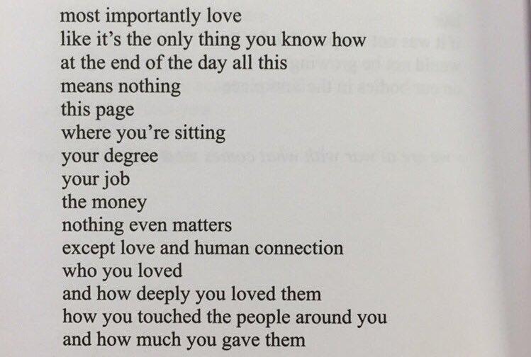 except love