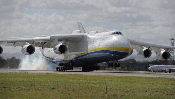 """ГП """"Антонов"""" рассматривает возможность серийного производства Ан-225 """"Мрия"""". Для производства нужно около $3-4 млрд. https://t.co/nQNLpi9f00"""