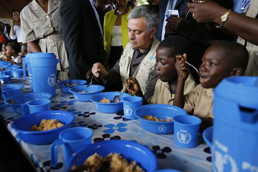 Congrats to our #WFP Global Ambassador Against Hunger #JoseMourinho for his appointment to #ManchesterUnited !