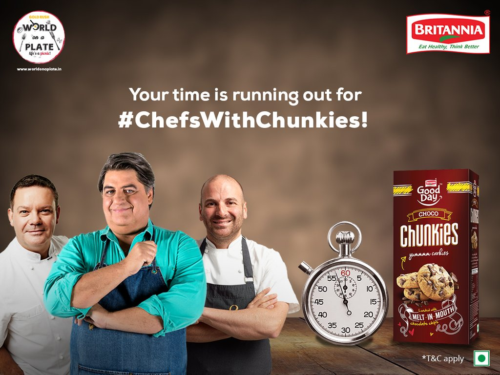 Hey #CaL Chunkies lovers! 2 days more to send your recipe #ChefsWithChunkies to meet the #MasterchefAustralia hosts! https://t.co/9ijguNipDE