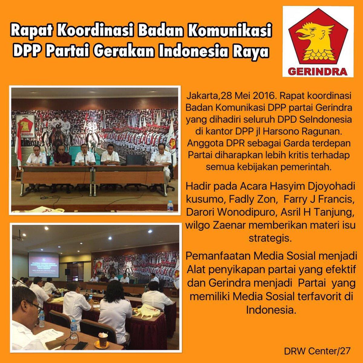 #anggotadprri #gerindra #komisi4 #jakarta #gerindraindonesia pic.twitter.com/mzp0jATz5P