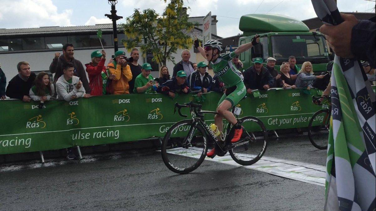 Eddie Dunbar winning into Baltinglass https://t.co/XWq07jG47B