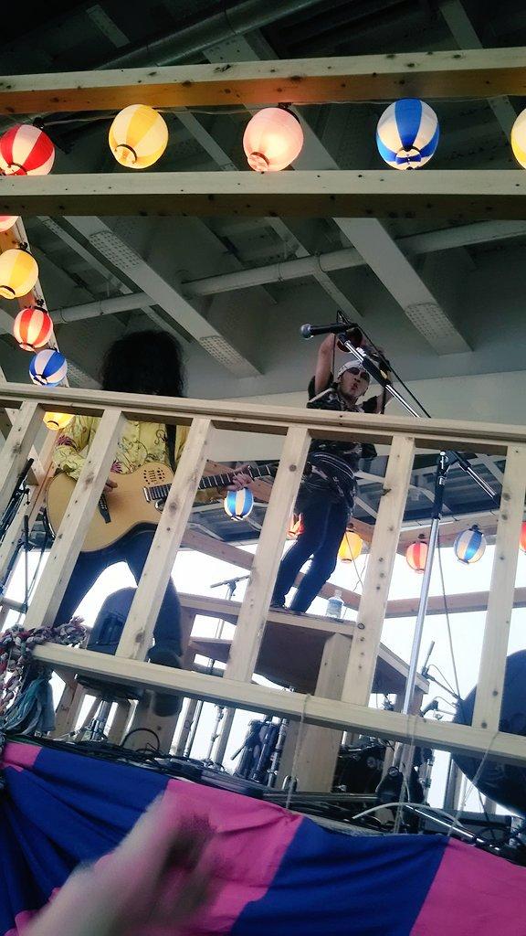 #羊歯明神Jr. アンコールでワルシャワ~❕ #橋の下世界音楽祭 https://t.co/50lLt4lzYT