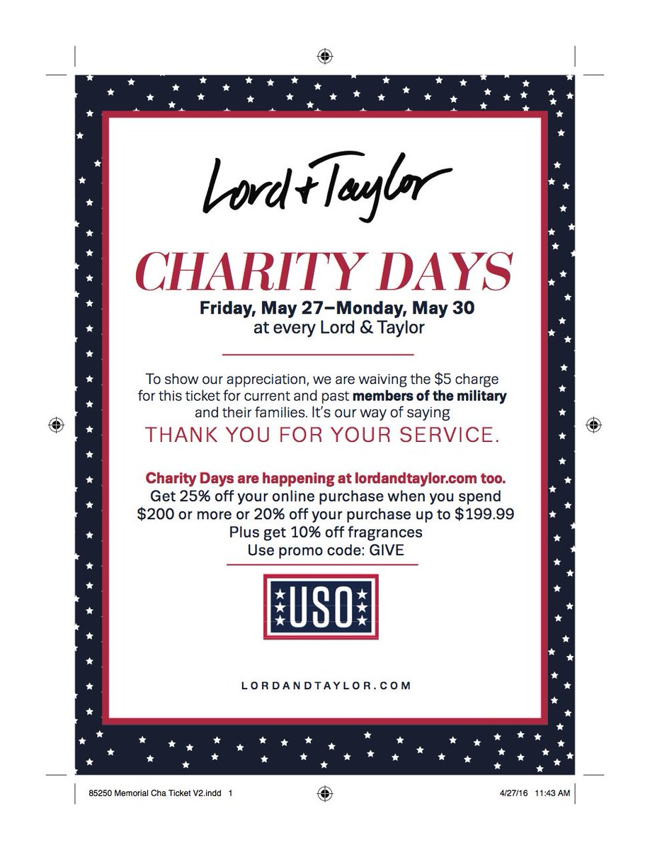 5461eaee30 Lord & Taylor on Twitter: