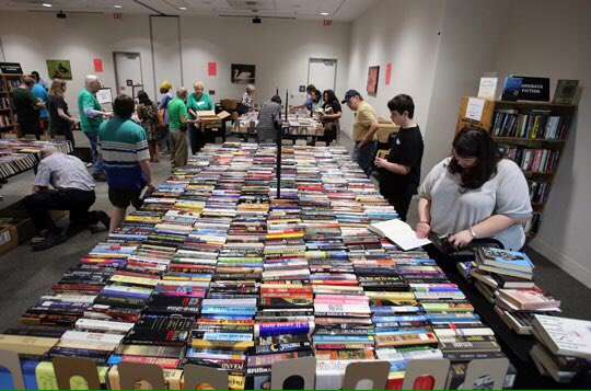 Spring Book sale continues today @MemphisLibrary
