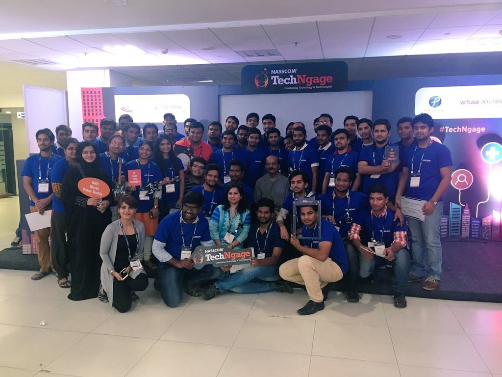 NASSCOM On Twitter TechNgage Hyderabad Hackathon Comes