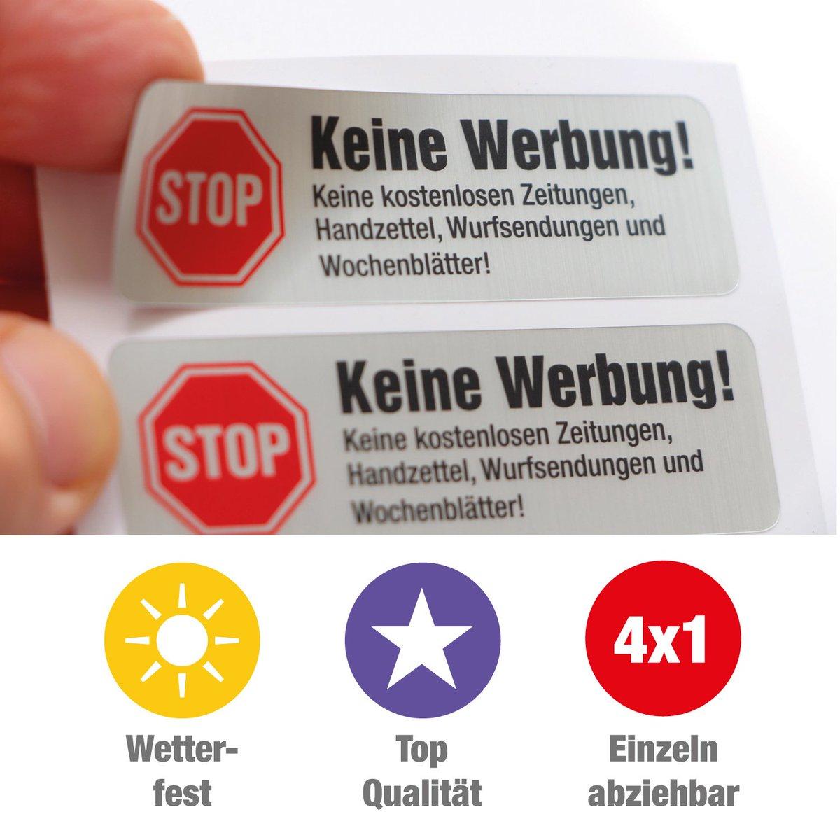 Immanuel Henne On Twitter Stop Briefkasten Werbung