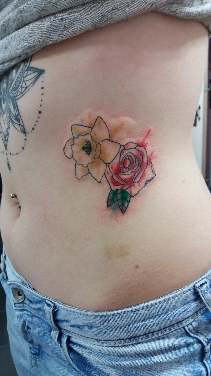 Sinkingin Tattoos On Twitter Water Colour Flowers Ink Tattoo