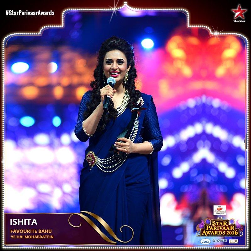 Divyanka Tripathi,Star Parivaar Awards 2016,images,pictures,latest,pic,HD,Ishita,Yeh Hai Mohabbatein