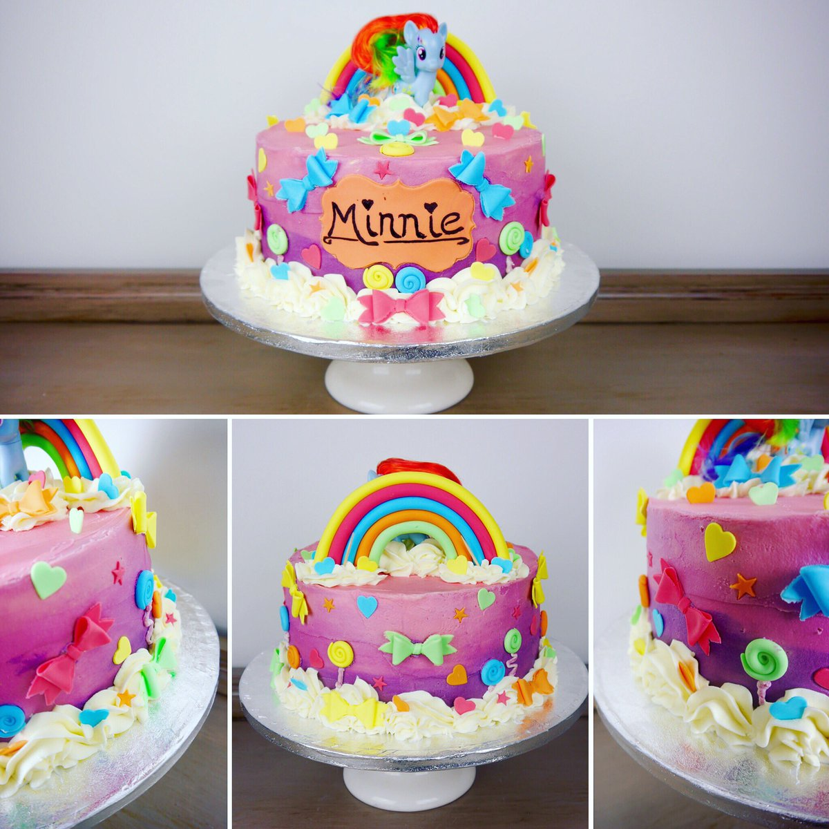 Groovy Beaumonts Bakery On Twitter Another Buttercream Beauty Rainbow Funny Birthday Cards Online Eattedamsfinfo