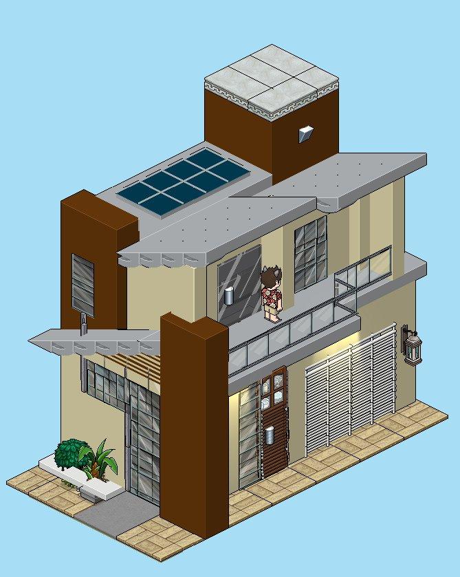 Habbo design habb0d3sign twitter for Casa moderna en habbo fantasy
