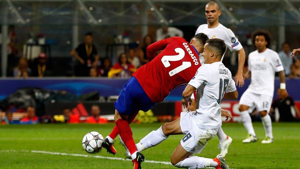 جووووووووووووووووول التعادل || هدف التعادل اتلتيكو مدريد