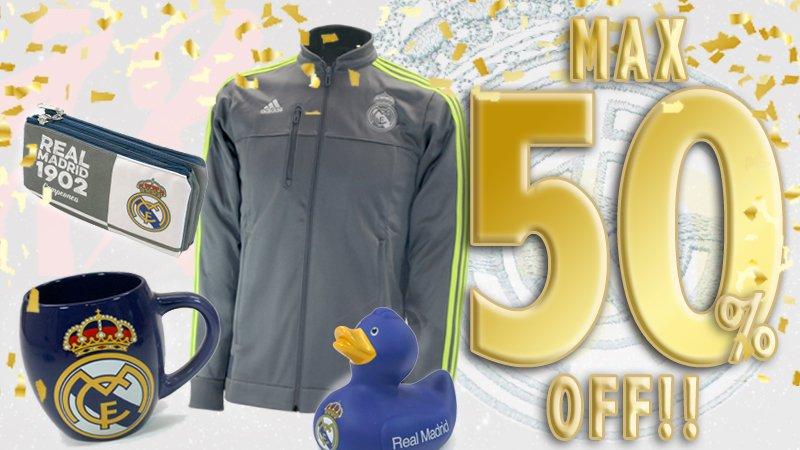 \優勝記念セール!/ レアル・マドリードグッズが最大50%OFFのセールスタート! shop.soccer-king.jp/shopbrand/ct63… 5/31(火)までの期間限定です! お買い逃しなく!