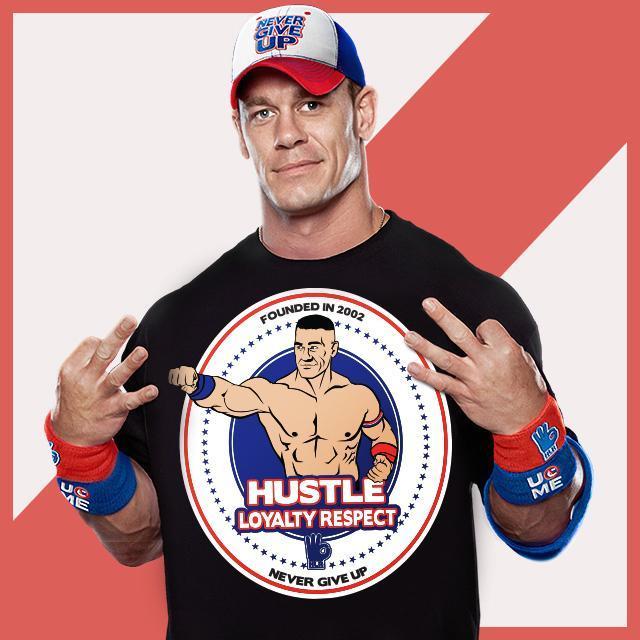 "WWEShop.com on Twitter: ""@JohnCena Returns Monday: Hustle Loyalty ..."
