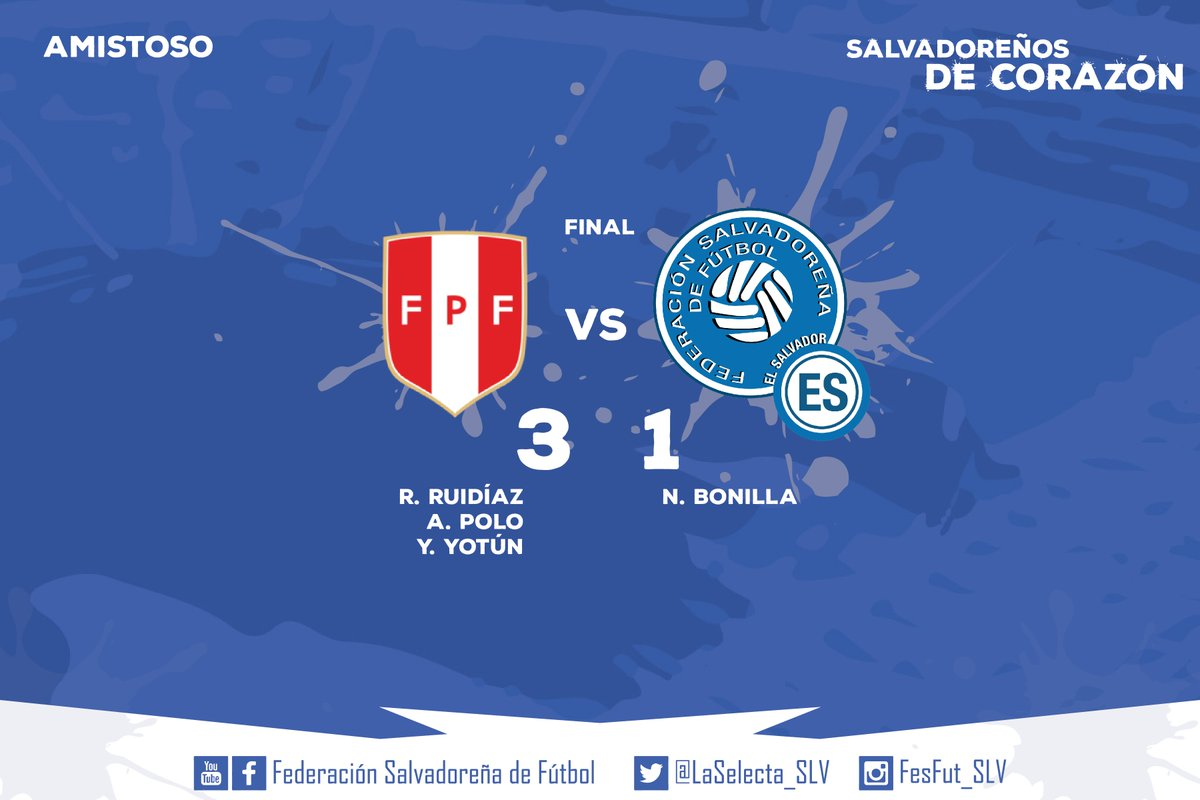 28-5-2016 - Amistoso El Salvador 1 Peru 3. CjluNjgUoAAyN51