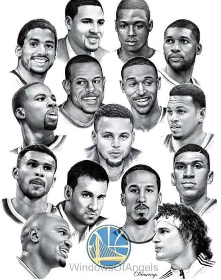 Very Proud #WarriorsHeart #SeeYouMonday  #StrengthInNumbers  #WesternConferenceFinals  @nba