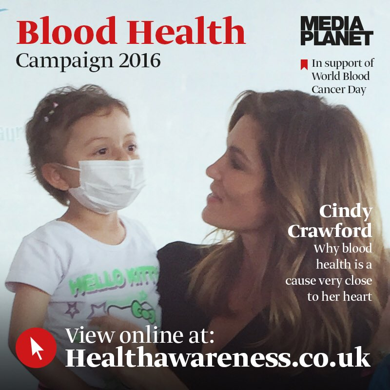 I'm so happy to support World Blood Cancer Day – a cause close to my ❤️. @MediaplanetUK https://t.co/XdTsIetVC8 https://t.co/aVDkbpSbQe