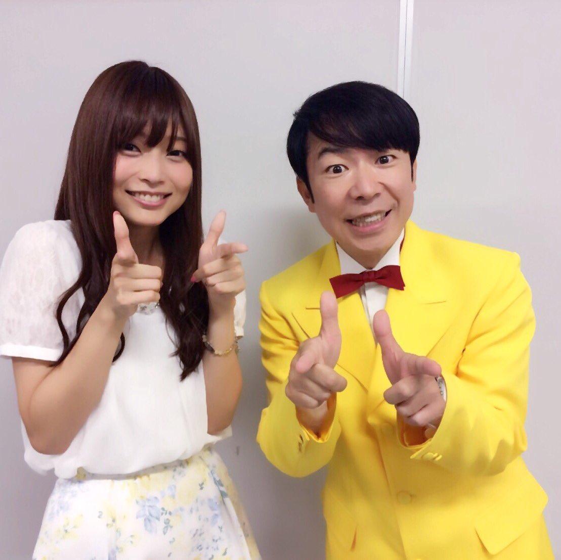 【庶民サンプル】スペシャルイベントにお越しくださったみなさま、本当にありがとうございましたっ!これからも、末長くよろしくお願いいたします♡(*´ワ`* ) サプライズゲストのダンディ坂野さまとゲッツ☆笑 #syomin_anime pic.twitter.com/V2meukhvEO