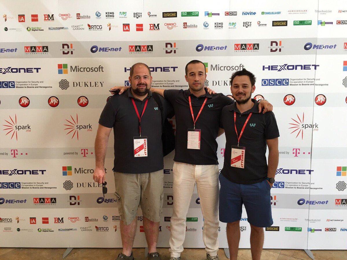 #Webiz team at #SparkMe https://t.co/LVIhS8OdeQ