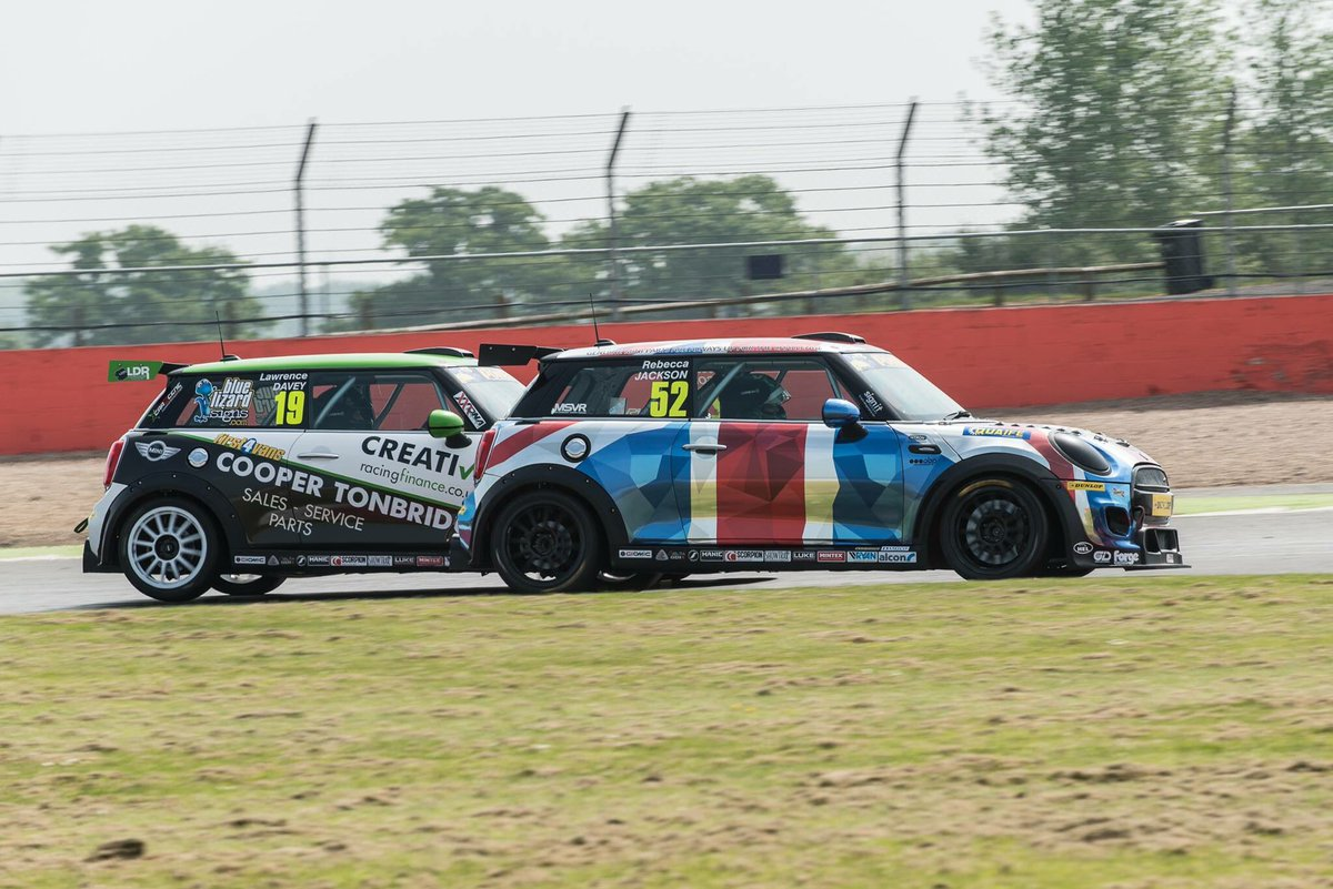 Huge thank you to @MINIChallengeUK and @MINIUK for another brilliant weekend of racing! (David Young photo) https://t.co/UXE2L2wRNZ