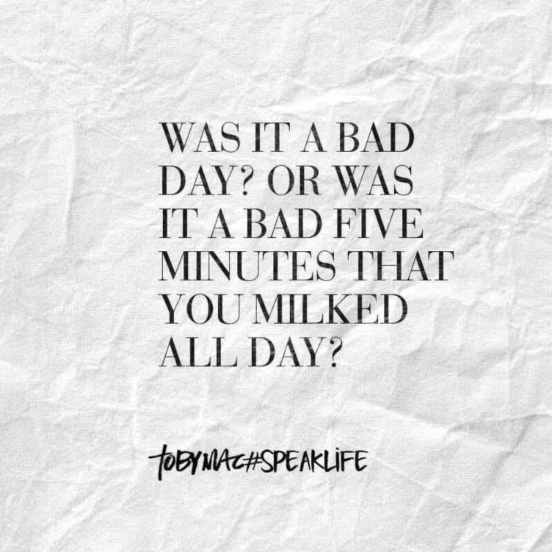 Image result for was it a bad day or a bad five minutes