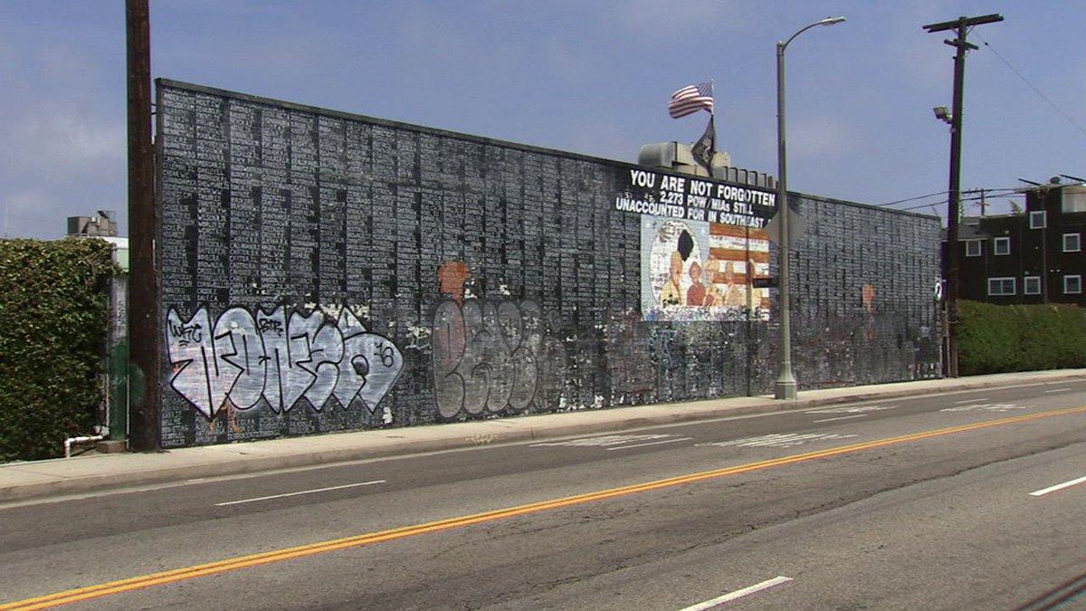 Abc7 Eyewitness News On Twitter Vietnam War Memorial Wall In Venice Vandalized Https T Co Z3s3ix6qfy