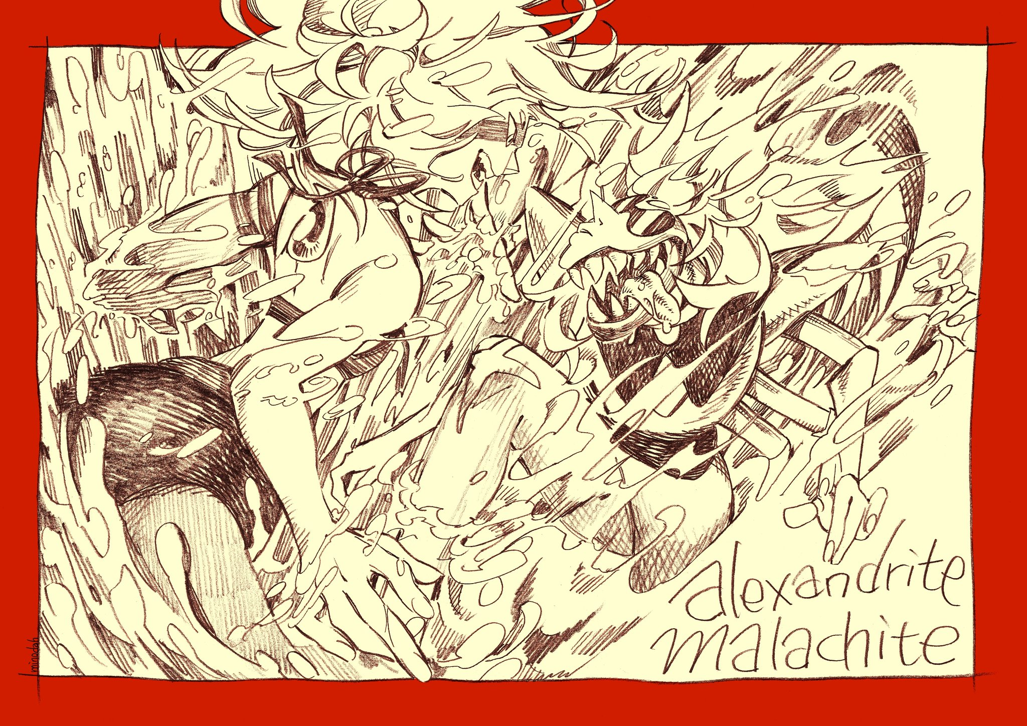 """alexandrite&malachite"""