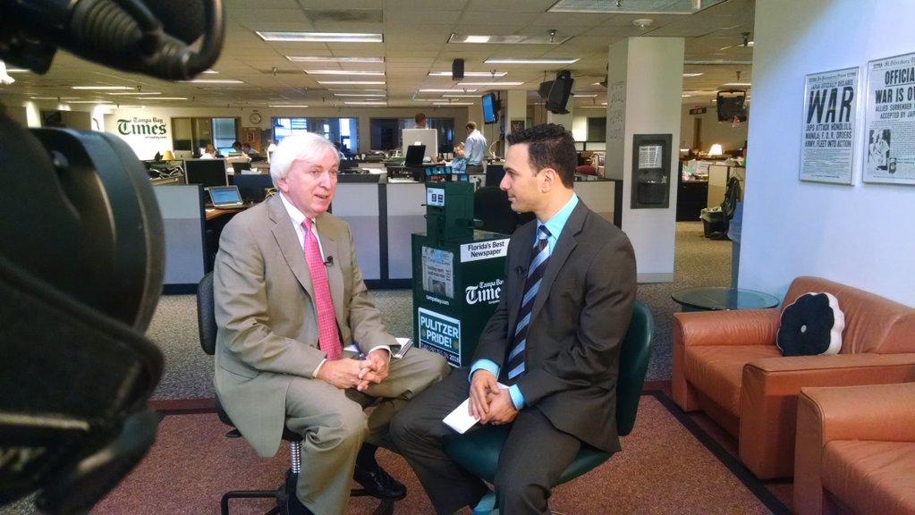 Sunday Conversation with Times' Tallahassee Bureau Chief