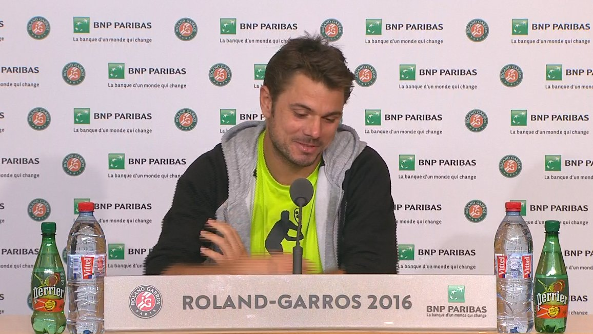 Wawrinka prensa - RG '16 - @rolandgarros