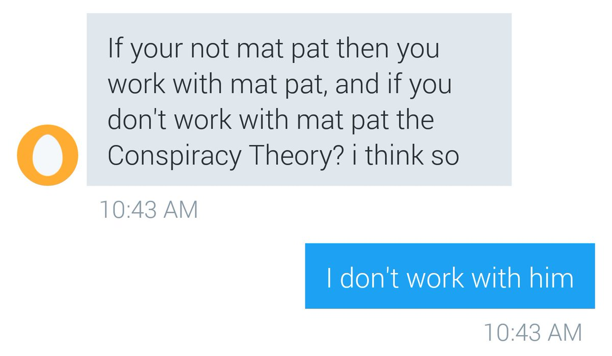 Game Theory Rejects On Twitter Meta Theory If You Re Not Matpat Then You Must Work With Matpat The smartest show in gaming twitter
