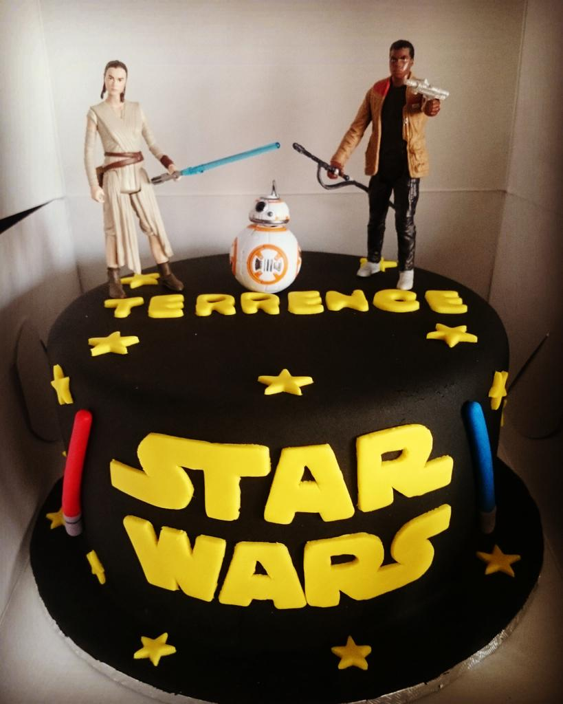 Amazing Finesse Catering On Twitter Star Wars Cake Starwars Lightsaber Funny Birthday Cards Online Sheoxdamsfinfo
