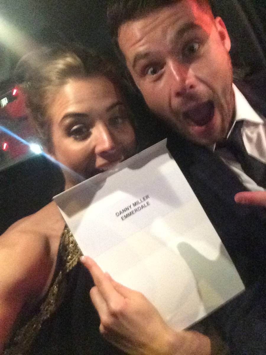 Who won best actor again?Wahay! YES @emmerdale he tackled a challenging storyline & did us all proud @DannyBMiller https://t.co/mwzfJ7RvM7