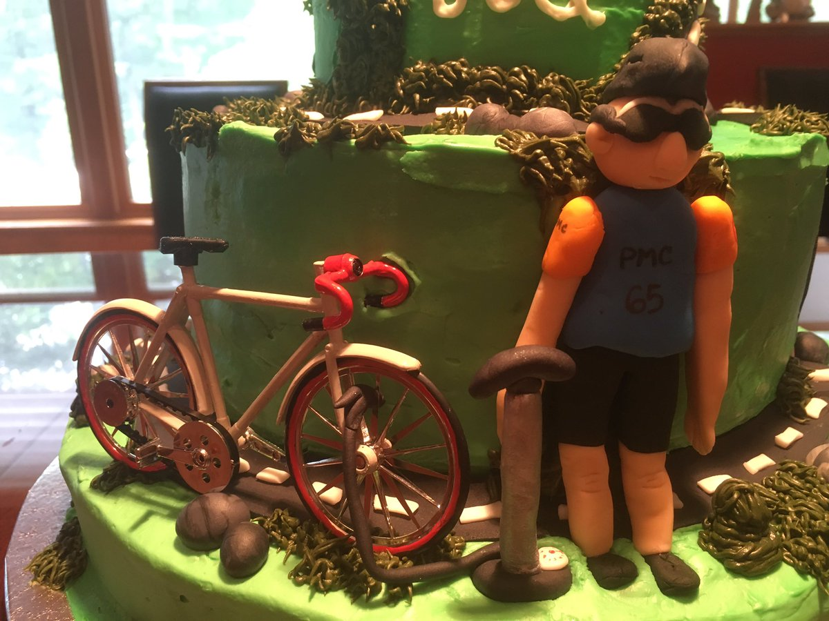 Excellent Karen Spilka On Twitter Amazing Bicycle Birthday Cake For My Funny Birthday Cards Online Overcheapnameinfo