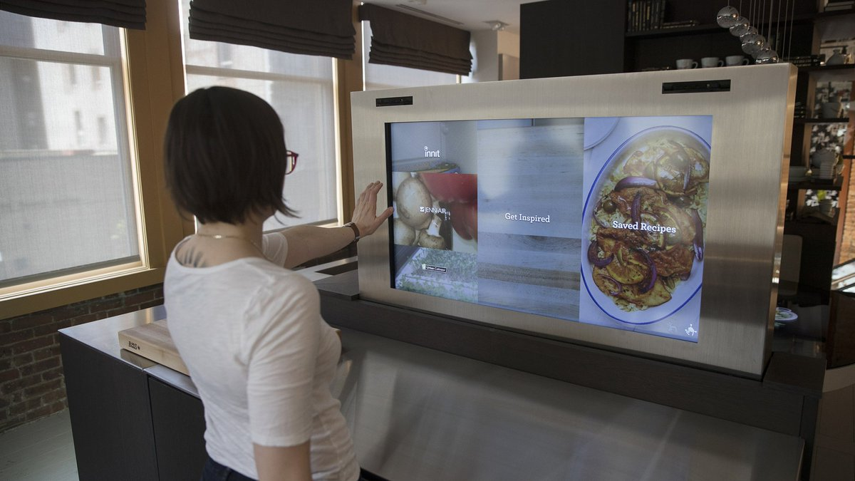 The Kitchen of the Future Knows What's in Your Fridge