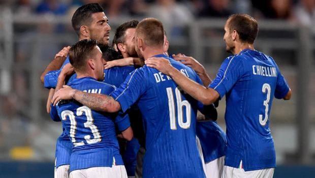 ITALIA SCOZIA risultato con Pellè