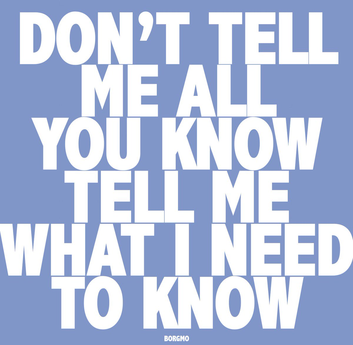 Tell me all you know about... :)?