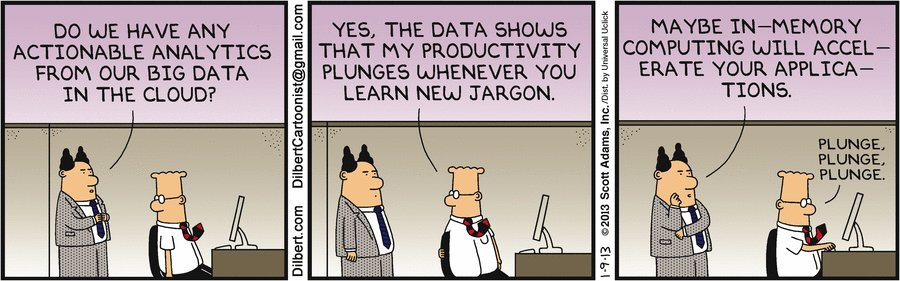 Dilbert's 20 funniest cartoons on Big Data