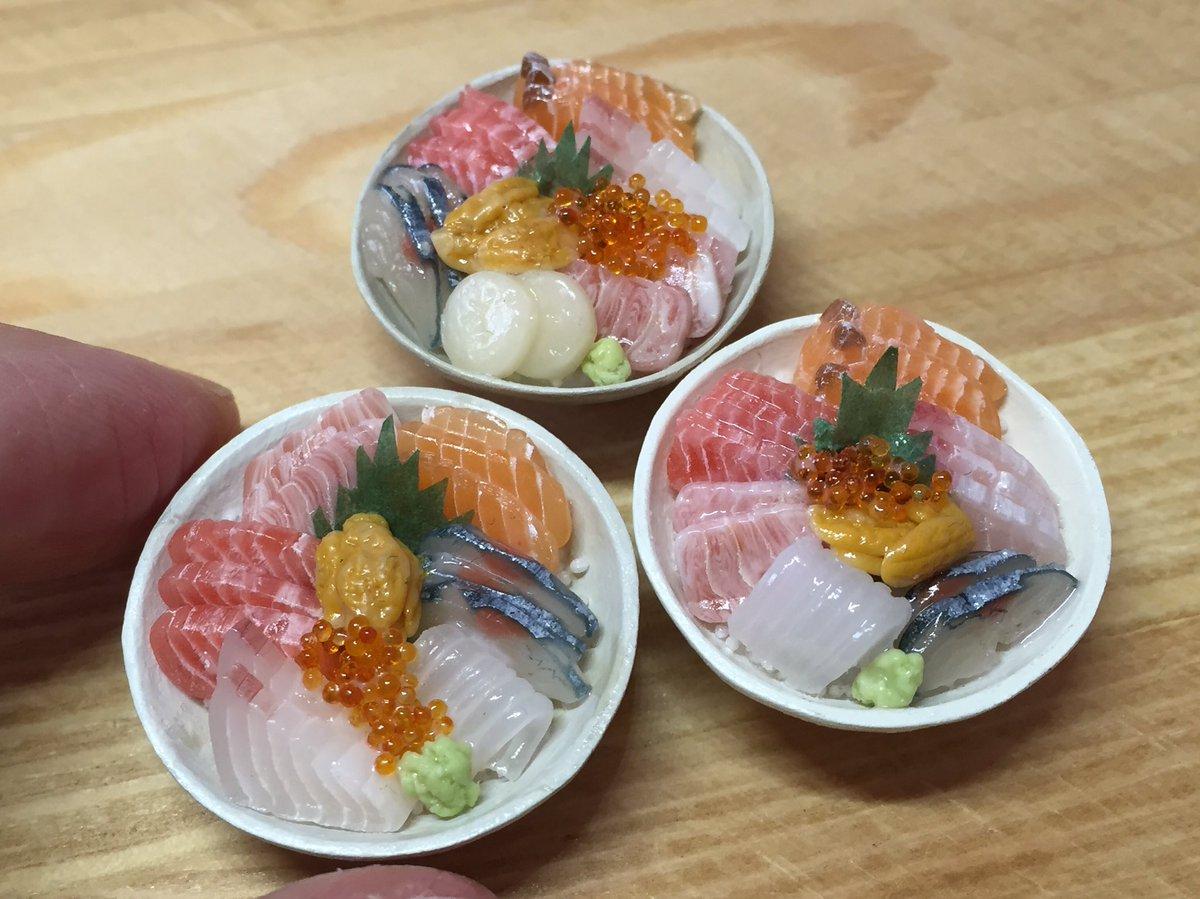 これが粘土…!?ミニチュア海鮮丼が本物にしか見えないと話題に!