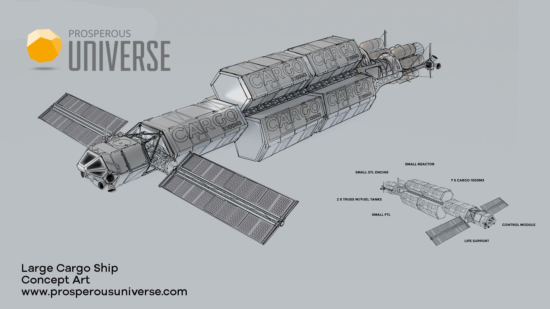 Cjr6VfUWkAEi6D2 large prosperous universe on twitter \