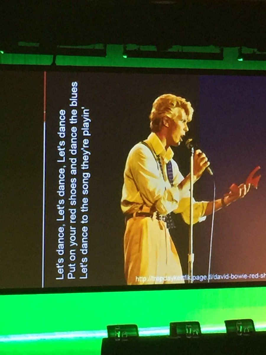 #EduTechAU @RossJTodd  put on your red shoes and dance! Thanks for the inspiration https://t.co/Sta7cFHR1U
