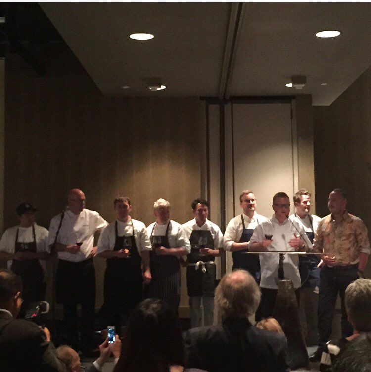 Thank you to the Chefs, volunteers and guests @FishSauce_YYC in support of @redcrosscanada Fort Mac fire relief https://t.co/vu5a4wLK5Y