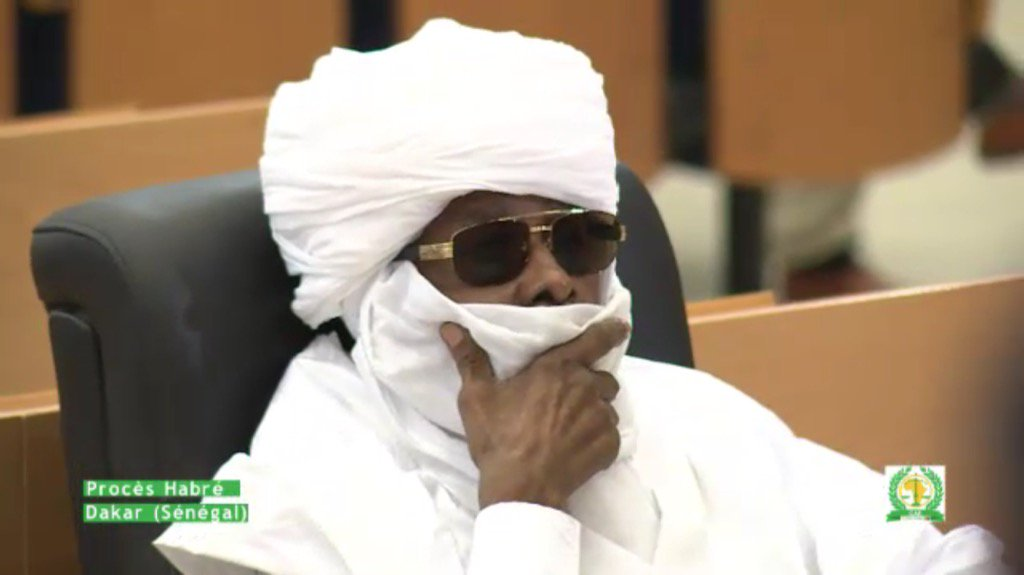 Breaking: court in Senegal finds Chad ex-dictator #HissèneHabré GUILTY of atrocities during 1982-1990 rule. https://t.co/IEnTS2oOKN