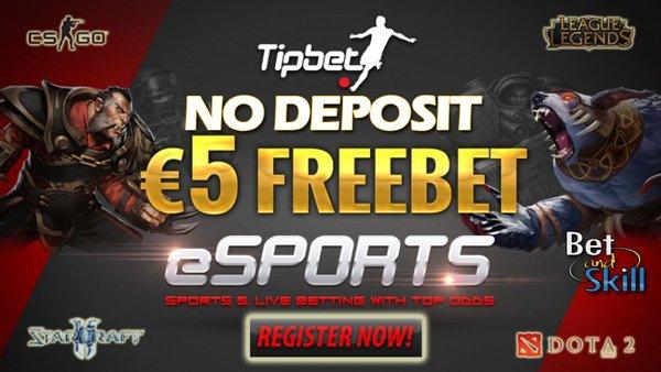 Tipbet No Deposit Free Bet