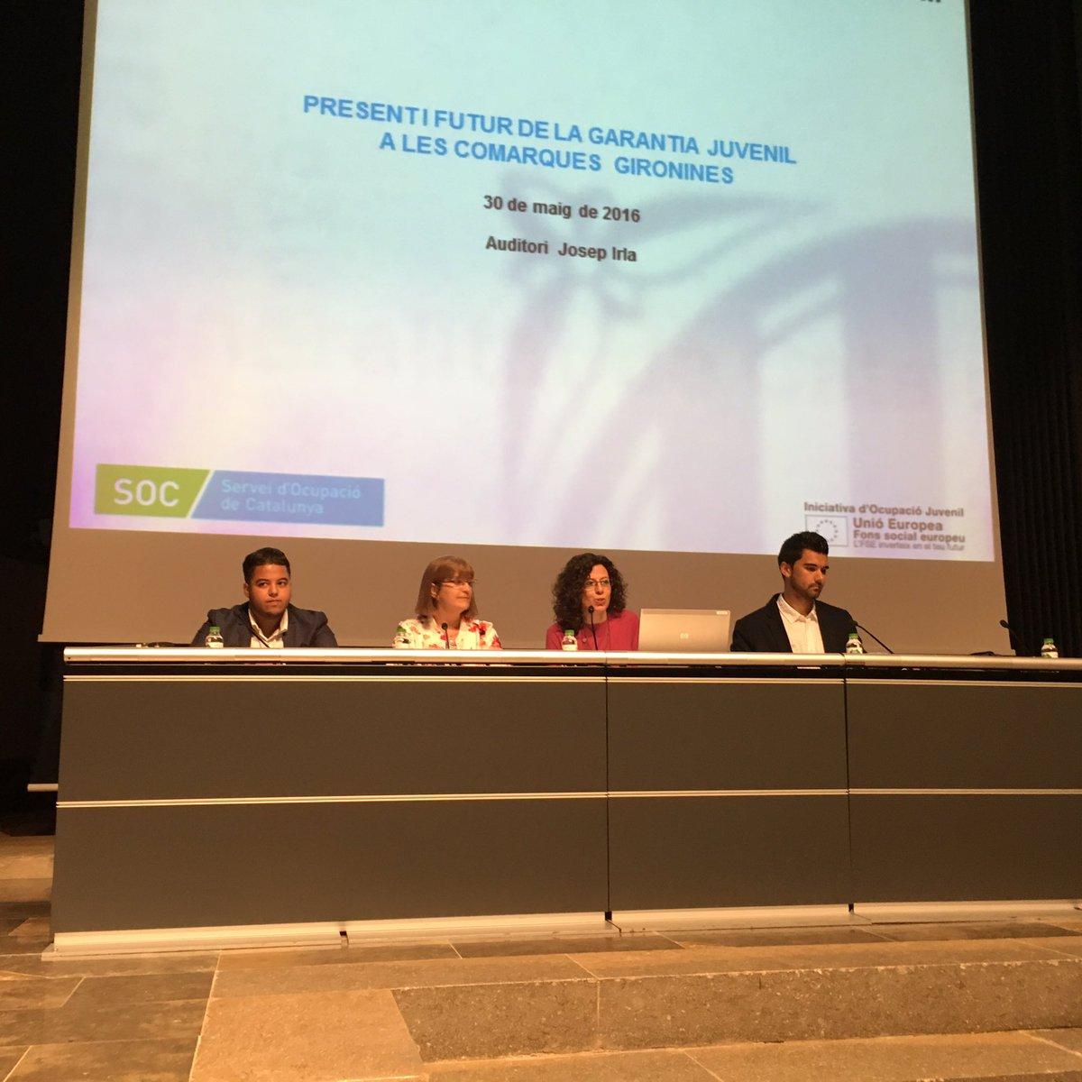 Jornada present i futur de la garantia juvenil a les for Oficina de treball