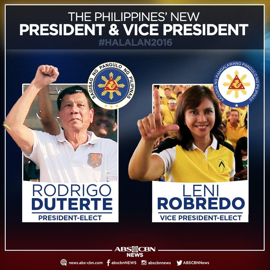 rodrigo duterte elected
