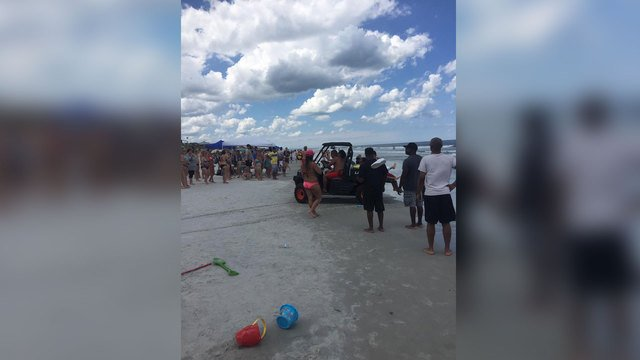 13-year-old boy bitten by shark at Florida beach